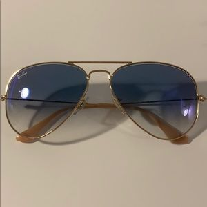 Ray ban gradient blue